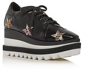 Stella McCartney Women's Platform Wedge Low-Top Sneakers