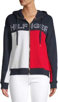 Tommy Hilfiger Colourblock Zip Hoodie