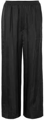 Marc Jacobs Striped Satin-jacquard Wide-leg Pants