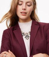 LOFT Crystal Drop Statement Necklace