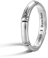 John Hardy Women's 'Bamboo' Silver Ring