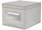 InterDesign Axis Large Storage Boxes (Set of 2)