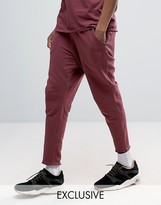 Puma Cropped Joggers In Burgundy Exclusive To ASOS 57530801