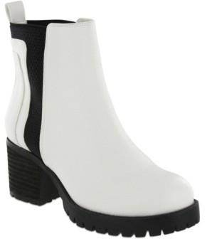 Mia Women's Colten Chelsea Lug Sole Boots Women's Shoes