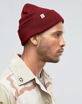 Herschel Supply Co Frankfurt Beanie In Red