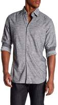 Stone Rose Long Sleeve Knit Shirt