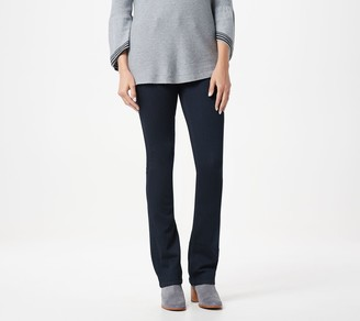 Laurie Felt Silky Denim Tall Pull-On Baby-Bell Jeans