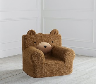 Pottery Barn Kids My First Teddy Bear Fur Anywhere Chair Slipcover Only
