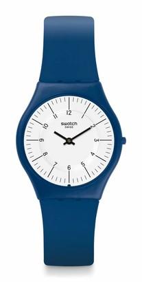 Swatch Time Swiss Quartz Silicone Strap