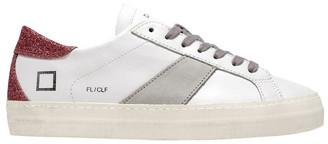 D.A.T.E Flair White/Pink Sneaker