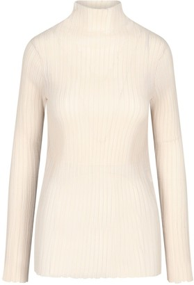 Jil Sander Ribbed Turtleneck Pullover