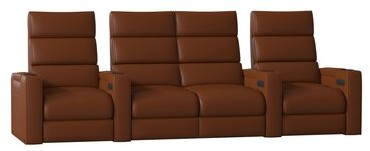 Thumbnail for your product : Winston Porter Dream HR Series Home Theater Row Seating (Row of 4)