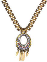 Lulu Frost Crystal Pendant Necklace