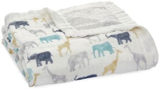 Aden Anais Baby Boy's 4-Piece Silky Soft Swaddle Blanket