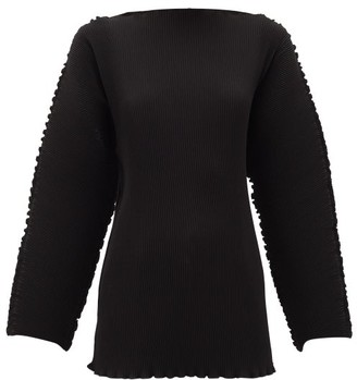 Totême Azores Pleated Top - Womens - Black