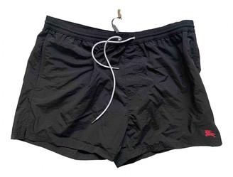 Burberry Black Polyester Swimwear