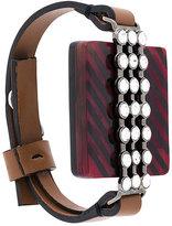 Marni rhinestone cuff bracelet