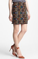 Willow & Clay Embroidered Pencil Skirt
