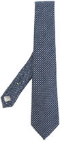 Canali checked tie