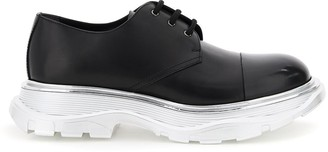 Alexander McQueen Chunky Sole Lace-Up Shoes