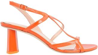 BY FAR Brigette Leather Sandals