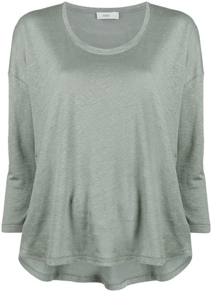 Closed 3/4 Sleeve Top