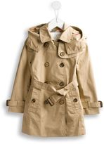 Burberry detachable hood trench coat - kids - Cotton/Polyester - 4 yrs