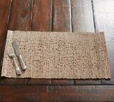 Pottery Barn Nubby Place Mat, Set of 4