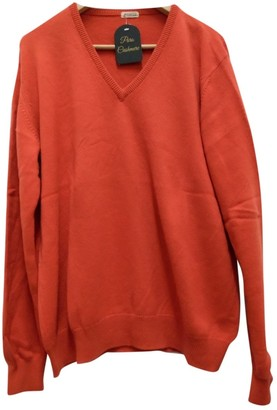 Malo Orange Cashmere Knitwear for Women