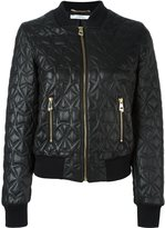 Versace embossed leather jacket