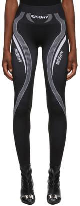 Misbhv Black Sport Active Classic Leggings