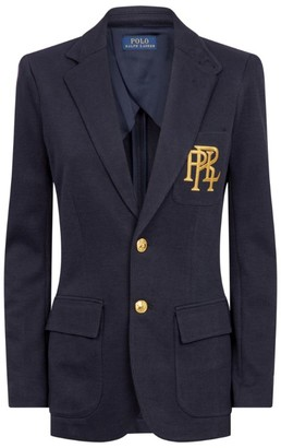 Polo Ralph Lauren Knitted Cotton Blazer