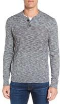 Grayers Men's 'Marlborough' Cotton & Wool Henley Sweater