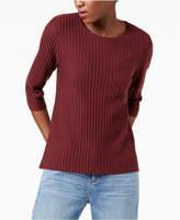 Eileen Fisher Wool Ribbed Sweater, Regular & Petite
