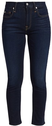 7 For All Mankind Mid-Rise Ankle Skinny Jeans