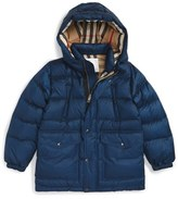 Burberry Boy's 'Barnie' Down Puffer Coat