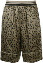 3.1 Phillip Lim Reversible Leopard print shorts