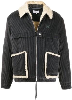 Kenzo Corduroy Shirt Jacket