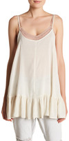 One Teaspoon Le Pure Linen Blend Tank