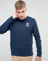 Franklin & Marshall Franklin And Marshall Crest Logo Long Sleeve T-shirt