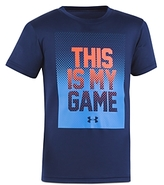 Under Armour Boys' This Is My Game Tee - Little Kid
