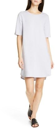 Eileen Fisher Crew Neck T-Shirt Dress