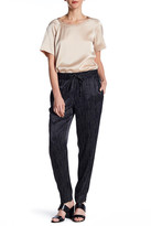 DKNY Stripe Drawstring Pull On Pant