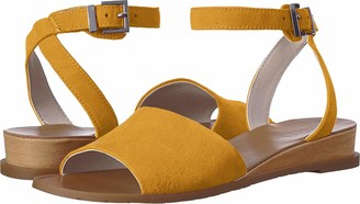 Kenneth Cole Reaction Women's Jolly Low Wedge Sandal with Ankle Strap