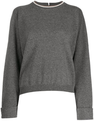 Brunello Cucinelli Turn-Up Cuff Sweater