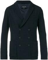 Giorgio Armani double-breasted blazer - men - Silk/Polyamide/Polyester/Viscose - 48