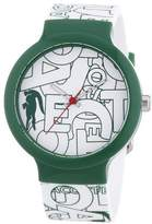 Lacoste Women's Quartz Watch with Multicolour Dial Analogue Display and Multicolour Silicone Strap 2020066