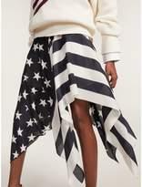Tommy Hilfiger Stars And Stripes Handkerchief Skirt