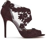 Reiss Beardsley Laser-Cut Suede Shoes
