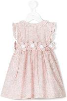 Cashmirino - Floral belt smock dress - kids - Cotton - 6 mth